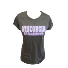 Ladies Grey & Purple T-Shirt
